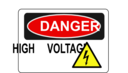 Danger High Voltage Alt 1