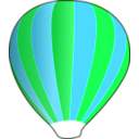 download Hot Air Balloon Work In Progress clipart image with 135 hue color