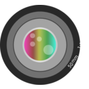 download Aperture clipart image with 315 hue color
