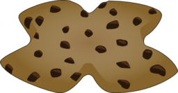 X Shaped Cookie