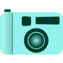 download Camera clipart image with 135 hue color