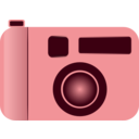 download Camera clipart image with 315 hue color