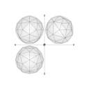 42 Construction Geodesic Spheres Recursive From Tetrhahedron