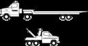 Deux Camions Noirs