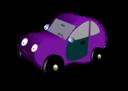 Magenta Car