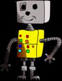 Childlike Robot Yellow