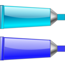 Color Tube Blue Cyan