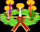 Advent Wreath Advent Crown
