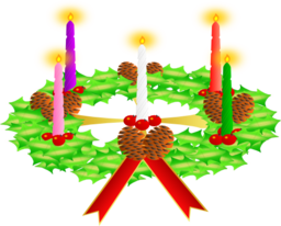 Advent Wreath Advent Crown