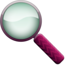 download Magnifying Glass Color clipart image with 315 hue color