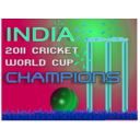download 2011 Cricket World Cup Winner clipart image with 135 hue color