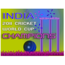 download 2011 Cricket World Cup Winner clipart image with 225 hue color