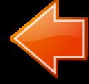 Go Previous Orange Button Tango Style