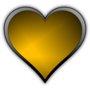 download Heart Icon clipart image with 45 hue color