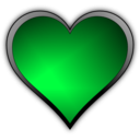 download Heart Icon clipart image with 135 hue color