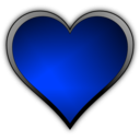 download Heart Icon clipart image with 225 hue color