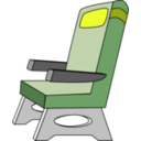 download Seat clipart image with 225 hue color