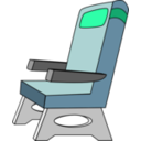download Seat clipart image with 315 hue color