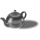 download Tea Pot clipart image with 225 hue color