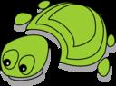 Green Tortoise Cartoon