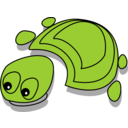 Green Tortoise Cartoon