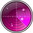 download Radar clipart image with 225 hue color