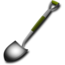 download Shovel clipart image with 45 hue color