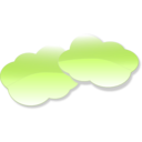 download Clouds clipart image with 225 hue color