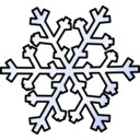 download Weather Symbols Snow clipart image with 45 hue color