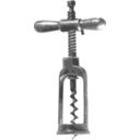 download Corkscrew clipart image with 315 hue color