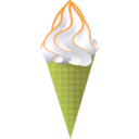 download Ice Cream Cone clipart image with 45 hue color