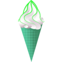 download Ice Cream Cone clipart image with 135 hue color