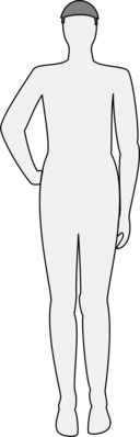 Male Body Silhouette Front