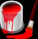 Color Bucket Red