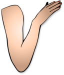 St Patricks Girl Right Arm