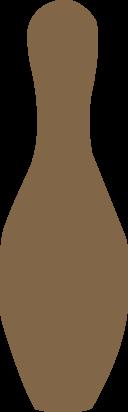 Bowling Pin Brown