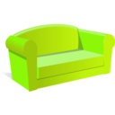 download Sofa clipart image with 45 hue color
