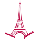 download Eiffel Tower Paris clipart image with 135 hue color