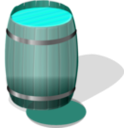 download Wooden Barrel Petri Lumm 01 clipart image with 135 hue color