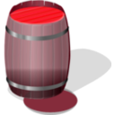 download Wooden Barrel Petri Lumm 01 clipart image with 315 hue color
