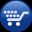 Shopping Cart Blue