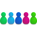 download Users Or Pawns clipart image with 135 hue color