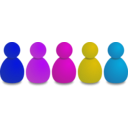 download Users Or Pawns clipart image with 225 hue color