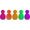 download Users Or Pawns clipart image with 315 hue color