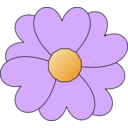 Simple Purple Flower