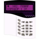 download Alarm System S2000m clipart image with 225 hue color
