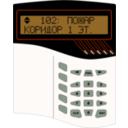 download Alarm System S2000m clipart image with 315 hue color