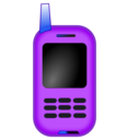 download Netalloy Toy Mobile Phone clipart image with 225 hue color
