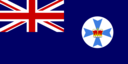 Flag Of Queensland Australia