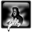 download Halloween Ghost clipart image with 225 hue color